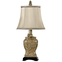 Signature 21 inch 40 watt Champagne Ware Table Lamp Portable Light