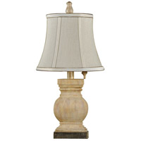 StyleCraft Home Collection L12409DS Signature 21 inch 40 watt Ellis Sandstone Table Lamp Portable Light