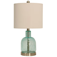 StyleCraft Home Collection L13890ADS Signature 2 inch 60 watt Brown Table Lamp Portable Light