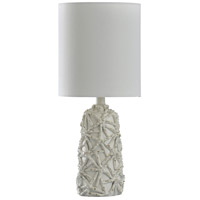StyleCraft Home Collection L14272DS Signature 21 inch 60 watt White Table Lamp Portable Light