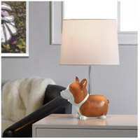 StyleCraft Home Collection L14500ADS Signature 18 inch 40 watt Beige and White Table Lamp Portable Light