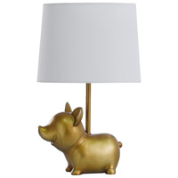 StyleCraft Home Collection L14500BDS Signature 18 inch 40 watt Gold Table Lamp Portable Light