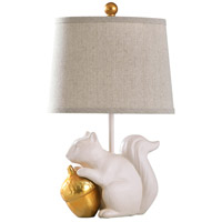 Gold Polyester Fabric Table Lamps