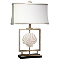 Signature 28 inch 100 watt Sand Stone Table Lamp Portable Light