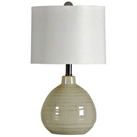 StyleCraft Home Collection L22017DS Signature 22 inch 60 watt Cool Gray Table Lamp Portable Light