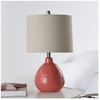 StyleCraft Home Collection L22019GDS Signature 22 inch 60 watt Raspberry Surprise Table Lamp Portable Light