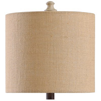 StyleCraft Home Collection L23585MLDS Signature 24 inch 60 watt Natural Gray Table Lamp Portable Light