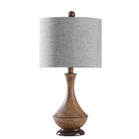 StyleCraft Home Collection L23619ADS Signature 23 inch 60 watt Painted Light Brown Table Lamp Portable Light