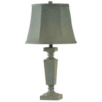 Blue Softback Fabric Signature Table Lamps