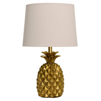 Signature 30 inch 150 watt Gold Table Lamp Portable Light