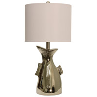 Signature 3 inch 150 watt Silver Table Lamp Portable Light