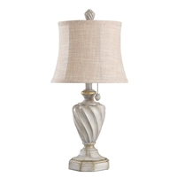 StyleCraft Home Collection L27344DS Signature 24 inch 40 watt Antique White Table Lamp Portable Light