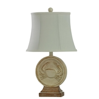 StyleCraft Home Collection L27473DS Signature 23 inch 60 watt Distressed Sand and Light Brown Table Lamp Portable Light
