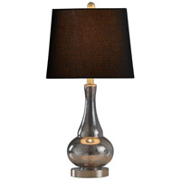 StyleCraft Home Collection L27522DS Signature 25 inch 100 watt Sheer Blue Table Lamp Portable Light