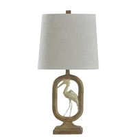StyleCraft Home Collection L27699CDS Signature 23 inch 40 watt Distressed Light Brown Table Lamp Portable Light