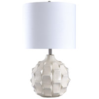 StyleCraft Home Collection L27887DS Signature 30 inch 150 watt White Table Lamp Portable Light