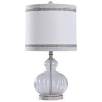 StyleCraft Home Collection L28736DS Greyson Grey 26 inch 150 watt Greyson Grey Table Lamp Portable Light