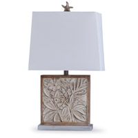 StyleCraft Home Collection L29885DS Bialy Pine 13 inch 100 watt Natural Wood Table Lamp Portable Light
