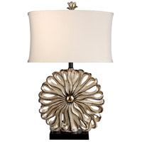 StyleCraft Home Collection L3-1113DS Signature 29 inch 100 watt Black and Silver Table Lamp Portable Light