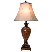 Signature 32 inch 150 watt Trieste Marble Table Lamp Portable Light