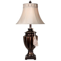 Dark Bronze Fabric Table Lamps