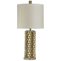 StyleCraft Home Collection L310151DS Signature 32 inch 150 watt Gold Table Lamp Portable Light