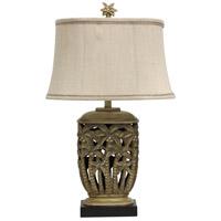 StyleCraft Home Collection L310429DS Signature 3 inch 100 watt Tortola Cream Table Lamp Portable Light