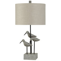 StyleCraft Home Collection L310462DS Signature 31 inch 150 watt Gray Table Lamp Portable Light