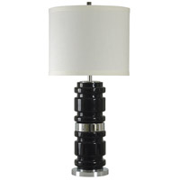 StyleCraft Home Collection L310973DS Signature 36 inch 150 watt Black Table Lamp Portable Light