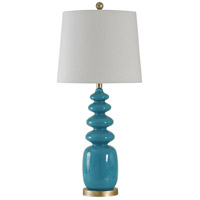 StyleCraft Home Collection L311031DS Signature 32 inch 150 watt Bluenote Table Lamp Portable Light