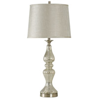 Mercury Glass Steel Signature Table Lamps