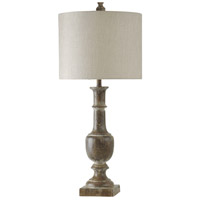 StyleCraft Home Collection L311280DS Signature 39 inch 150 watt Bronze Table Lamp Portable Light photo thumbnail