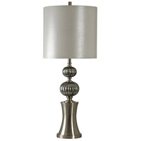 StyleCraft Home Collection L311425DS Signature 38 inch 150 watt Silver Table Lamp Portable Light