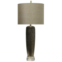 StyleCraft Home Collection L311626DS Signature 37 inch 150 watt Black Table Lamp Portable Light