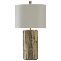 StyleCraft Home Collection L311635DS Signature 33 inch 100 watt Silver Table Lamp Portable Light