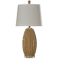 StyleCraft Home Collection L311692DS Signature 25 inch 100 watt Washed Pine Table Lamp Portable Light