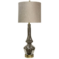 StyleCraft Home Collection L312340DS Signature 4 inch 150 watt Burgetts Table Lamp Portable Light