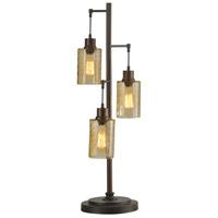 StyleCraft Home Collection L312571DS Signature 37 inch 40 watt Bronze Table Lamp Portable Light