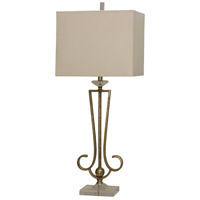 StyleCraft Home Collection L312573DS Signature 39 inch 150 watt Antique Gold Table Lamp Portable Light