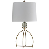 StyleCraft Home Collection L312574DS Signature 33 inch 150 watt Valier Gold Table Lamp Portable Light