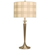 StyleCraft Home Collection L312613DS Signature 32 inch 150 watt Brushed Steel Table Lamp Portable Light