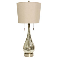 StyleCraft Home Collection L312827DS Signature 36 inch 40 watt Mercury Table Lamp Portable Light