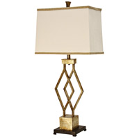 StyleCraft Home Collection L312977DS Signature 39 inch 100 watt Vintage Gold Table Lamp Portable Light