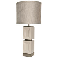 StyleCraft Home Collection L313044DS Signature 36 inch 150 watt Bozeman White Table Lamp Portable Light