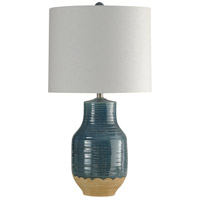 StyleCraft Home Collection L313253DS Signature 3 inch 150 watt Prova Blue Table Lamp Portable Light