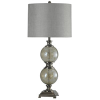 StyleCraft Home Collection L313292DS Signature 37 inch 150 watt Black Nickel Table Lamp Portable Light