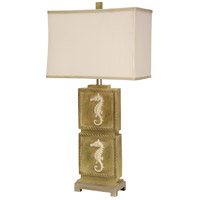 StyleCraft Home Collection L313295DS Signature 35 inch 100 watt Natural Wood Table Lamp Portable Light