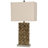 StyleCraft Home Collection L313392DS Signature 32 inch 100 watt Brown Table Lamp Portable Light