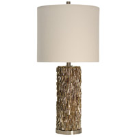 StyleCraft Home Collection L313393DS Signature 32 inch 150 watt Brown Table Lamp Portable Light