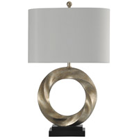 StyleCraft Home Collection L313498DS Signature 30 inch 100 watt Silver Table Lamp Portable Light